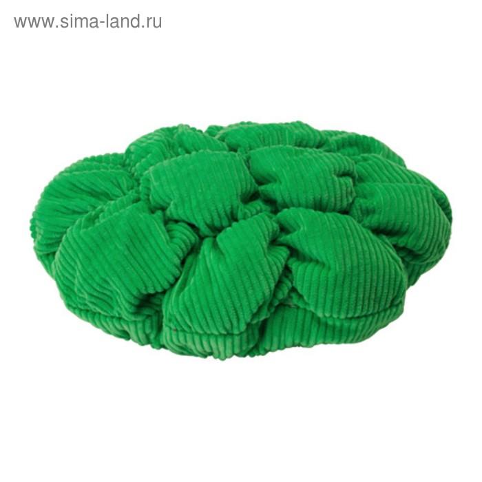 Чехол для табурета СТИККАТ, диаметр 28 см, цвет зелёный