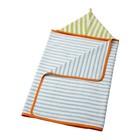 Полотенце с капюшоном СТЭНКА, размер 60х125 см, голубой/зелёный