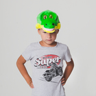 Карнавальная Шапка Крокодил размер 54-57