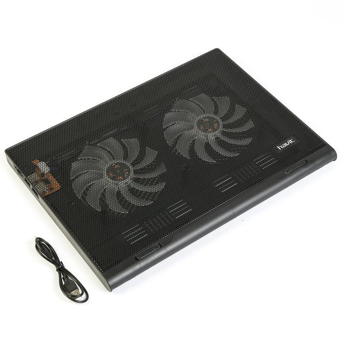 Подставка для ноутбука HAVIT HV-F2050 USB, черная