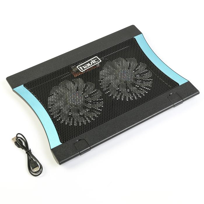 Подставка для ноутбука HAVIT HV-F2051 USB, черная