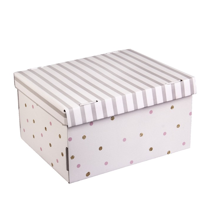 Складная коробка «Всё моё», 31,2 х 25,6 х 16,1 см