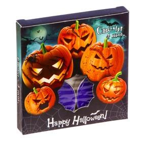 "Набор плавающих свечей 4 шт. ""Happy Halloween!"",  7.4 х 7.4 см"