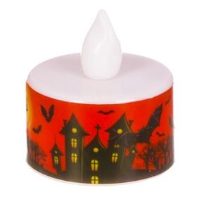 """Свеча-светильник  """"Хэллоуин"""" , ведьма, 3 х 3.5 см"""