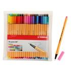Набор ручек капиллярных 40 цветов Stabilo point 88 0.4 мм, блистер 8840-1