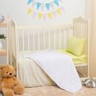 Детское постельное бельё Блакит kids Джунгли 465101/455202, 147х112, 120х60х19, 40х60 1шт, хлопок