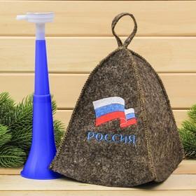 Набор'Россия': шапка и дудка Ош