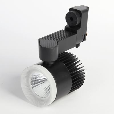 Трековый светильник Luazon TSL-005, 12 W, 960 Lm, 6500 K, дневной свет, корпус ЧЕРНЫЙ