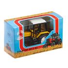 "Трактор ""Люкс"", чёрно-жёлтый, масштаб 1:43"