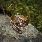 Перстень, литой, латунь диаметр 17-21 мм