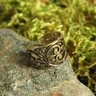 Перстень «Бога семена», литой, латунь диаметр 17-21 мм