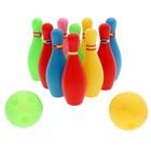 """Набор для боулинга """"Страйк"""", 10 кеглей, 2 шара"""