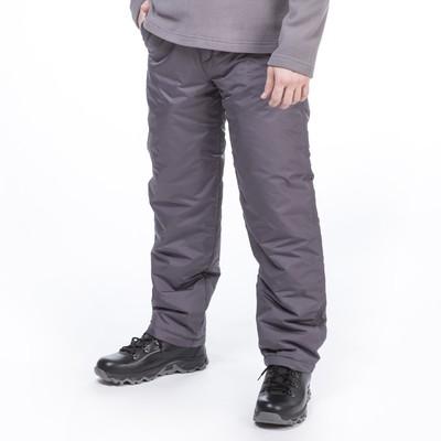 Брюки мужские, р. 50, рост 176, цвет тёмно-серый