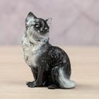 "Сувенир ""Котенок сидит"" черно-белый, 4х2х6см"