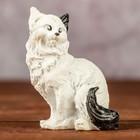 """Сувенир """"Котенок сидит"""" бело-черный, 4х2х6см"""
