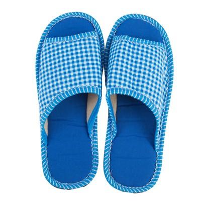 Тапочки женские арт. BTW70020-55-54 GT, цвет голубой, размер 40/41