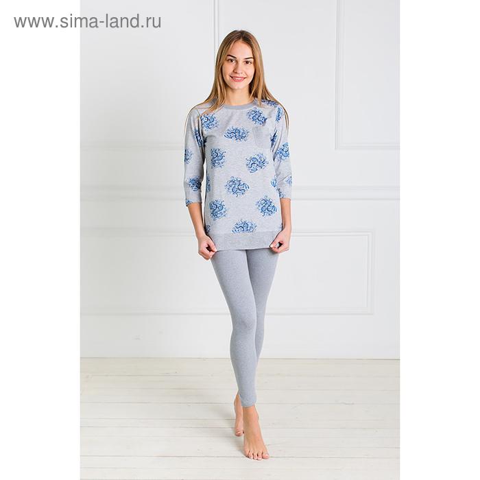 Комплект женский (джемпер, брюки) Каролина 2 цвет серый, р-р 42