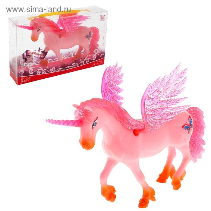 """Лошадь """"Единорог"""", в пластиковой коробке"""