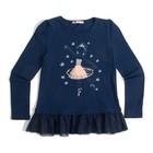 Джемпер для девочки, рост 122 см, цвет тёмно-синий CAK 61678