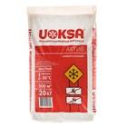 """Реагент антигололёдный """"UOKSA Актив"""", 20 кг, универсальный, работает при -30°C, в пакете"""