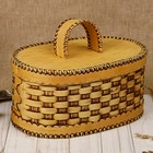 Хлебница плетеная 25х17х21 см