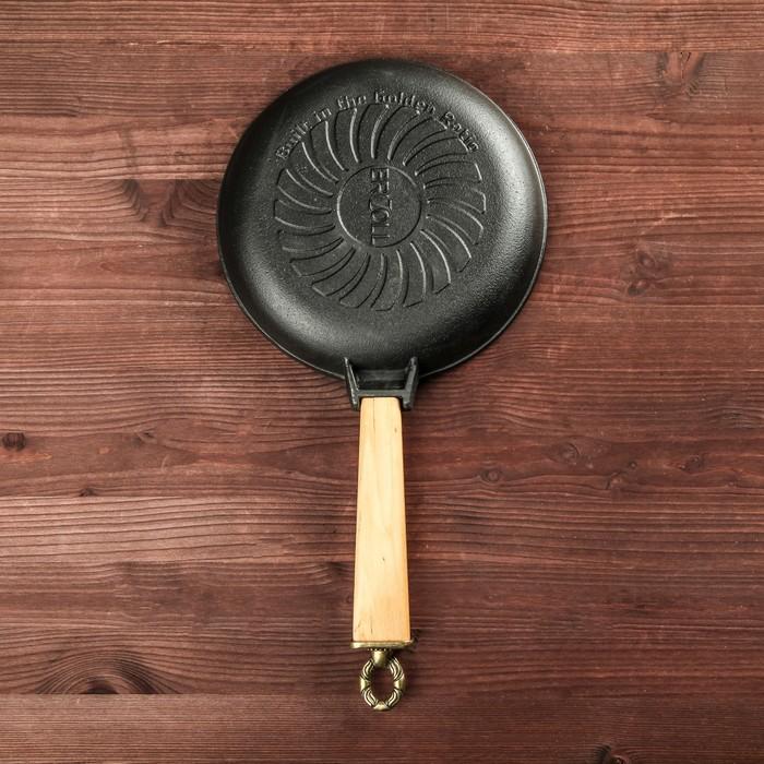 Сковорода  чугунная ТМ