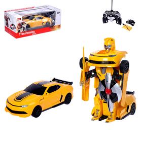 """Робот-трансформер радиоуправляемый """"Автобот"""", с аккумулятором, масштаб 1:14 mz 2313P"""