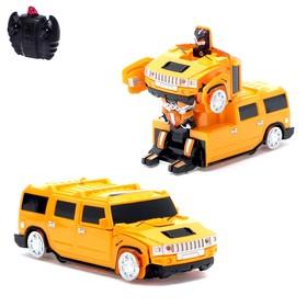 """Робот-трансформер радиоуправляемый """"Автобот"""", ездит по стенам, масштаб 1:24, МИКС mz 2829X"""