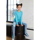 Джемпер для девочки, рост 110/116, см, цвет бирюзовый