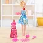"""Кукла модель """"Наташа"""" в платье, с аксессуарами, МИКС"""