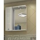 """Шкаф-зеркало Sun&Aqua """"Греция 60 С"""", левый, цвет белый"""