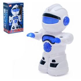 """Робот """"Космобот"""", ездит, произвольное движение, световые и звуковые эффекты, работает от батареек"""