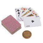 """Карты игральные бумажные """"Классика. Король"""", мини, 54 шт., 4 × 3 см"""