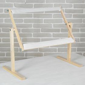 Станок для вышивания диванный/настольный, 34*55см, дерево/текстиль Ош