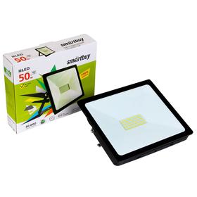 Прожектор светодиодный Smartbuy FL SMD, 50 Вт, 4100 K, IP65 Ош