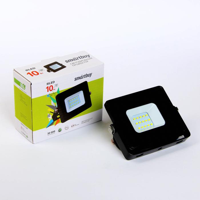 Прожектор светодиодный Smartbuy iPad style, 10 Вт, 6500 К, IP65