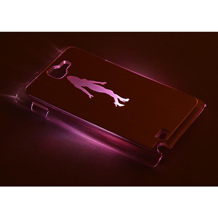 """Чехол для задней панели Samsung Galaxy Note, 9220, с подсветкой """"Танцы"""", МИКС"""