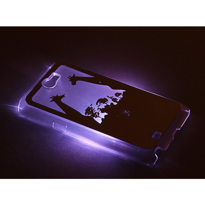 """Чехол для задней панели Samsung Galaxy Note 2, 7100, с подсветкой """"Зеркальные"""", МИКС"""