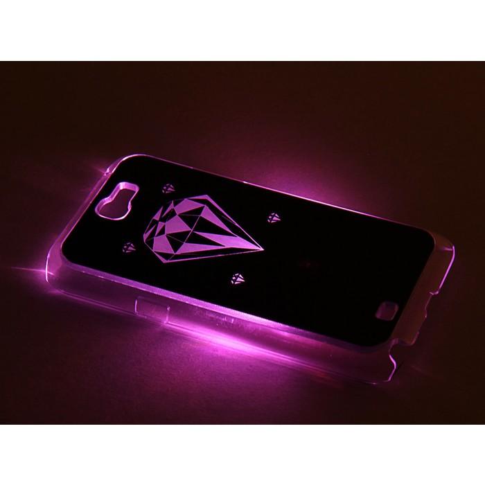"""Чехол для задней панели Samsung Galaxy Note 2, 7100, с подсветкой """"Ассорти"""", МИКС"""