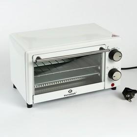 Печь электрическая Eurostek ETO-009A, 9 л, 650 Вт, Таймер на 60 минут, белый