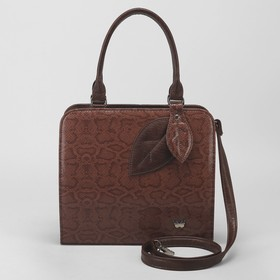 Сумка жен 929, 31*13*29, отд на молнии, н/карман, длинн ремень, коричневый