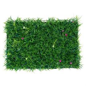 """Газон-коврик искусственный, 40 х 60 см, """"Цветочный луг"""""""
