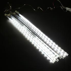 """Гирлянда """"Сосульки динамич"""", Ш:2,4, В:0,5 м, 2W УМС, Н.С.,SMD LED-240-220V, БЕЛЫЙ"""