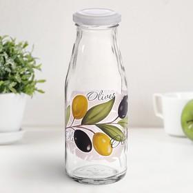 Бутылка с крышкой 250 мл 'Оливки' Ош