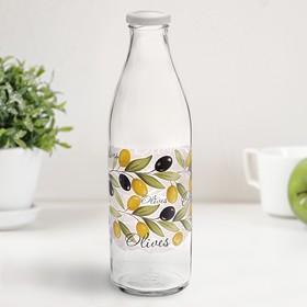 Бутылка с крышкой 1 л 'Оливки' Ош