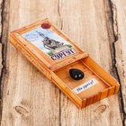 """Магнит-спичечный коробок """"Сургут"""", 3,6 х 5,6 х 1 см"""