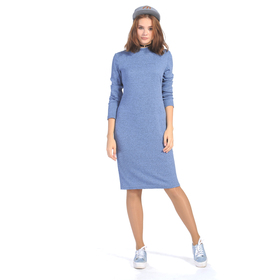 Платье женское 6818в цвет голубой, размер 44, рост 164