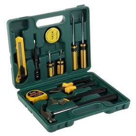 Набор слесарного инструмента KingTul, молоток, отвертки, шарн.-губцевый инструмент, 12 пр.