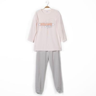 Комплект женский (джемпер, брюки) Р640336 цвет светло-розовый, рост 158-164, р-р 50