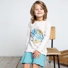 Платье для девочки, рост 110 см, цвет серый 161-330-02